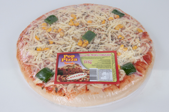 Pizza Pop de Mussarela